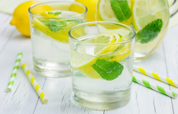 Green Mint with Lemon
