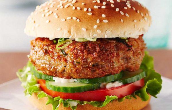 Jumbo American (Non-veg) Burger