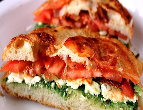 Chilli Paneer Sandwich