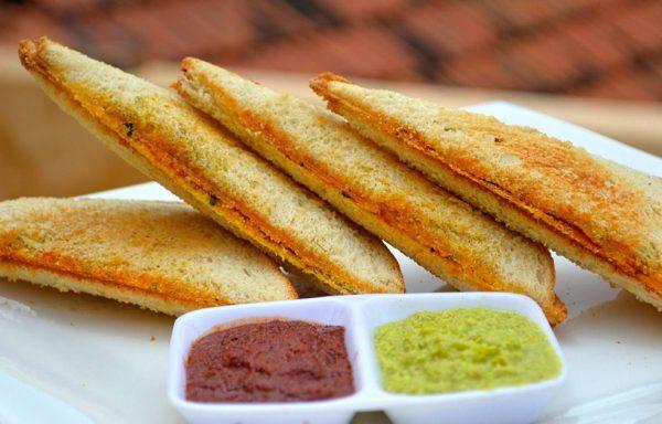Veg Masala Sandwich